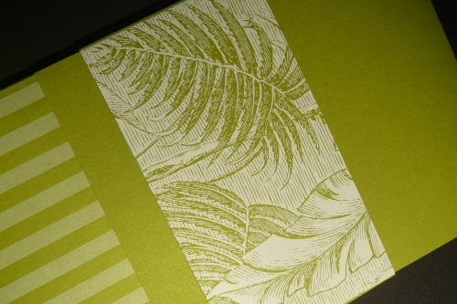 Pocket Folder with Tropical Band