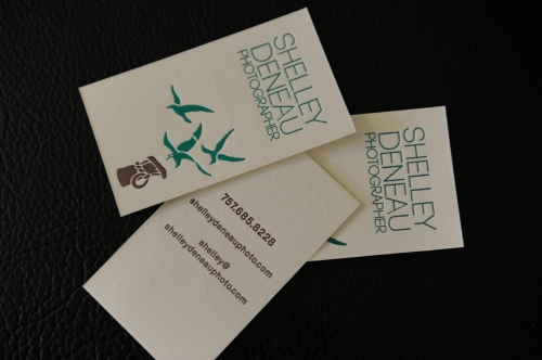 Shelley Deneau Business Cards