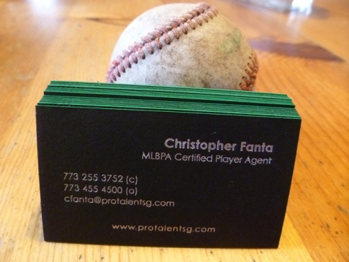 Chris's business card backs