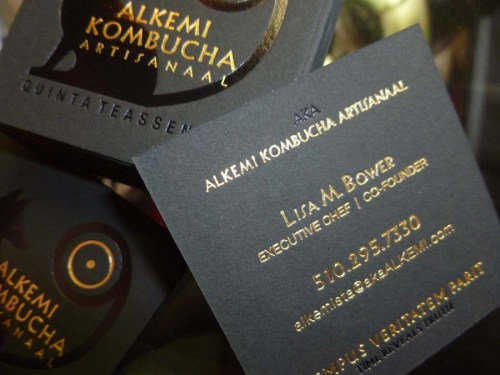 Alkemi Business Card Back
