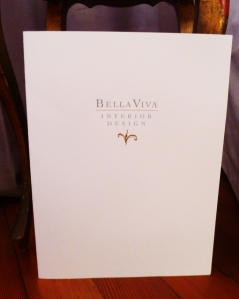 Bella Viva Press Kit Folder